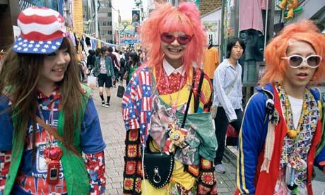 'Tokyo Fashion Tribe' Photo Source: Guardian.co.uk