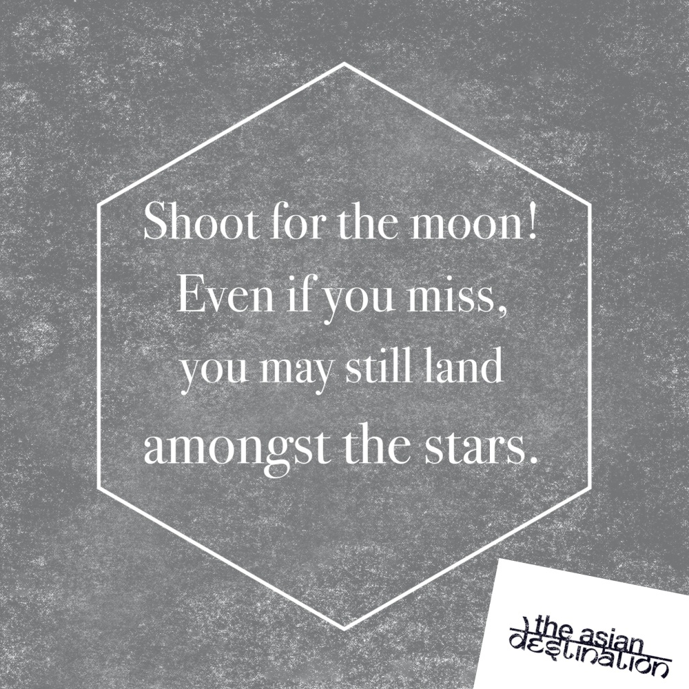 Shoot fro the moon!