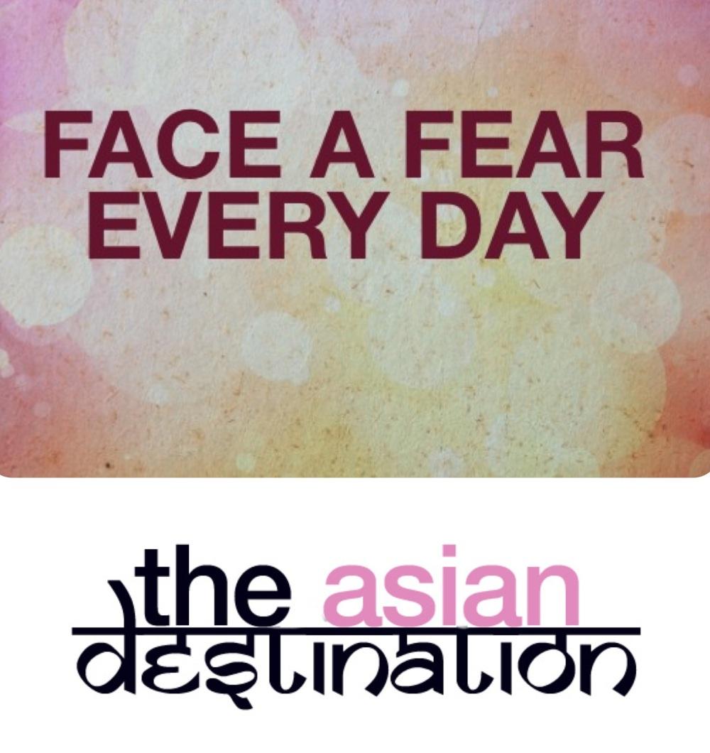 face a fear