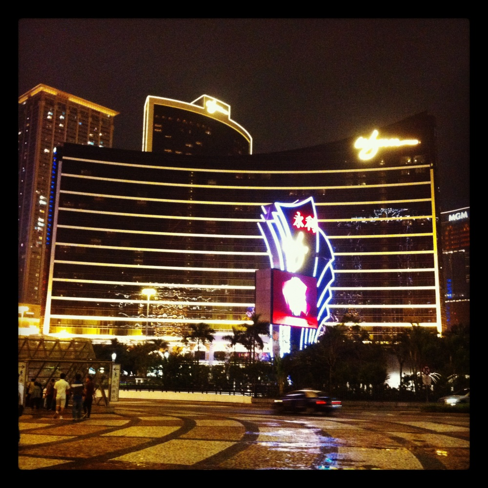 Whynn Resort and Casino, Macau - Photo by Ana Magarida Morais