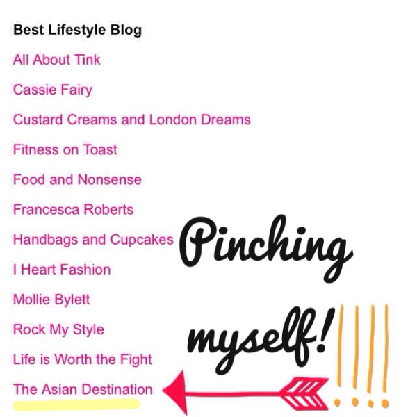 Cosmo Blog Awards 2014: The Asian Destination :: Best Lifestyle Blog