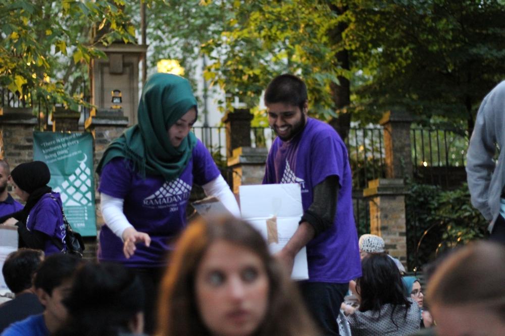 The Asian Destination:  The Ramadan Tent